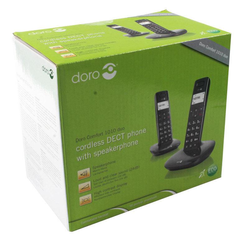 Doro Comfort 1010 Duo DECT Cordless Telephones