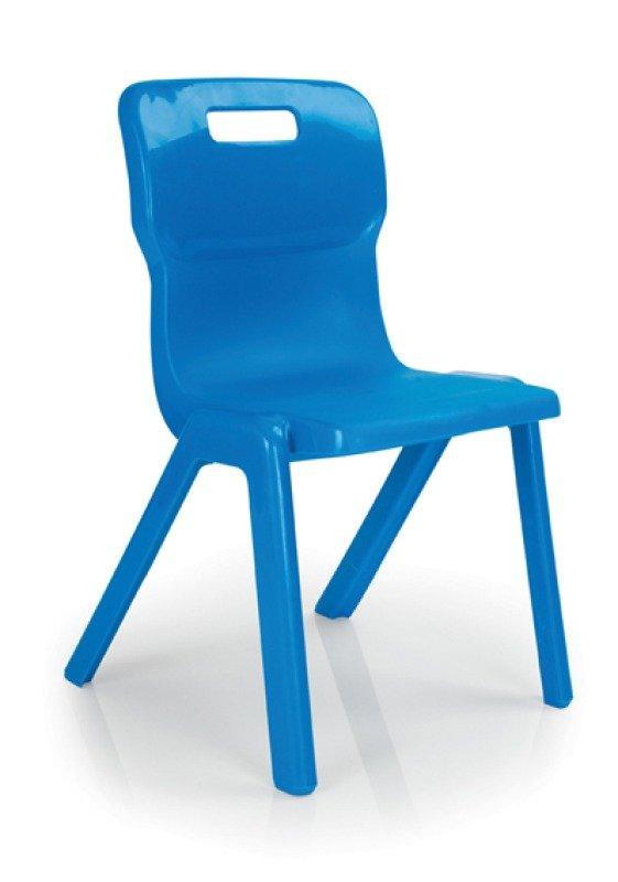 FF DD TITAN 1PCE SCHOOL CHR SIZE4 BLUE
