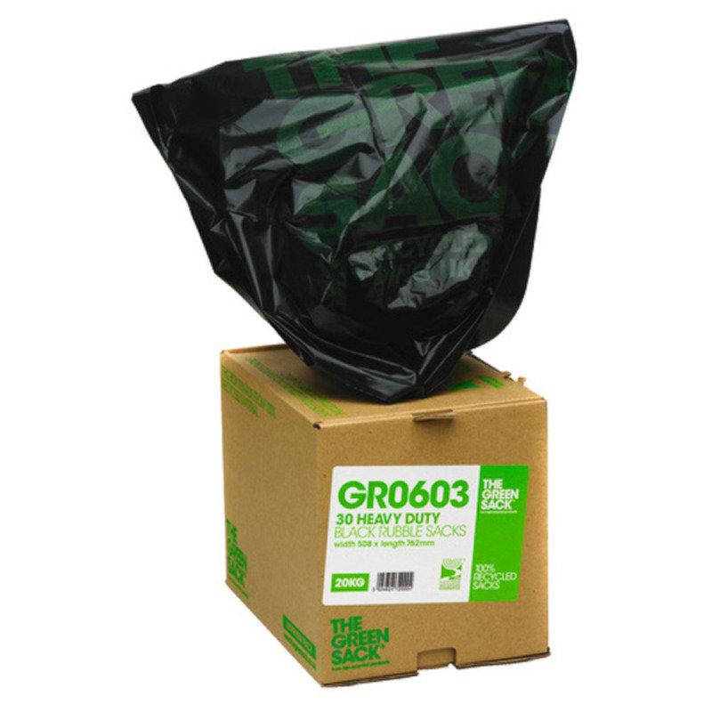 GREEN SACK CUBES BLK RBL SACK VHPGR0603