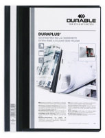 Durable DURAPLUS Quotation Folder A4 Black 25 Pack