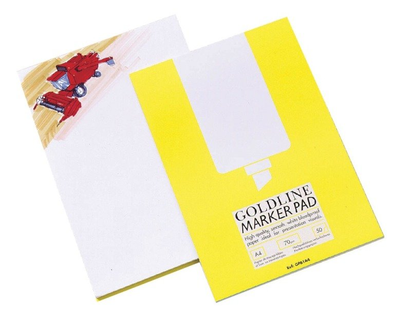 Image of Goldline Marker Pad A4