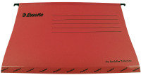Esselte Classic Economy Suspension Foolscap File Red 90336 (Pack of 25)