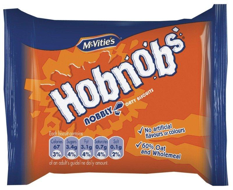 Image of McVities Hob Nobs Twin Pack - 48 Pack