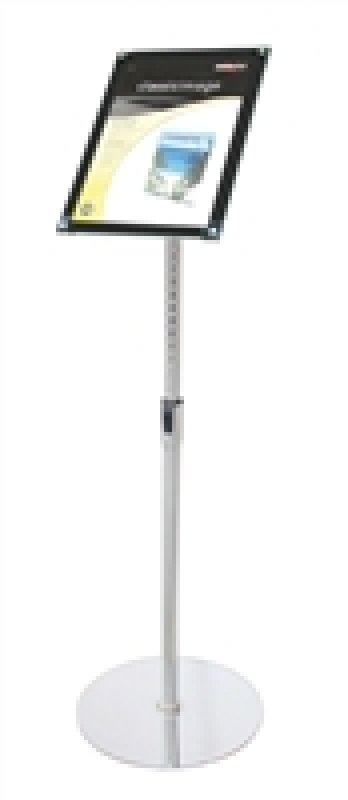 Image of DEFLECTO BEVELLED FLOOR SIGN HOLDER A4