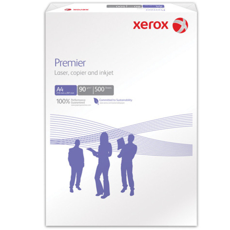 Xerox Premier A4 90g White Printer Paper  500 Sheets  3R91854