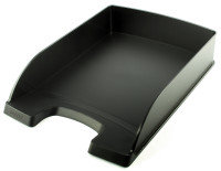 LEITZ PLUS STANDARD LETTER TRAY BLACK