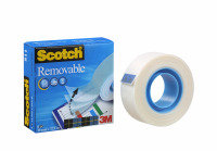 SCOTCH 811 MAGIC TAPE 19MMX33M REMOVABLE