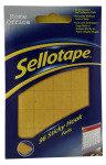SELLOTAPE STICKY HOOK PADS PK96 4543