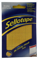 SELLOTAPE STICKY HOOK PADS PK96 4543