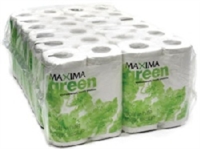 Image of Maxima Green 320 Sheet Toilet Roll - 36 Pack