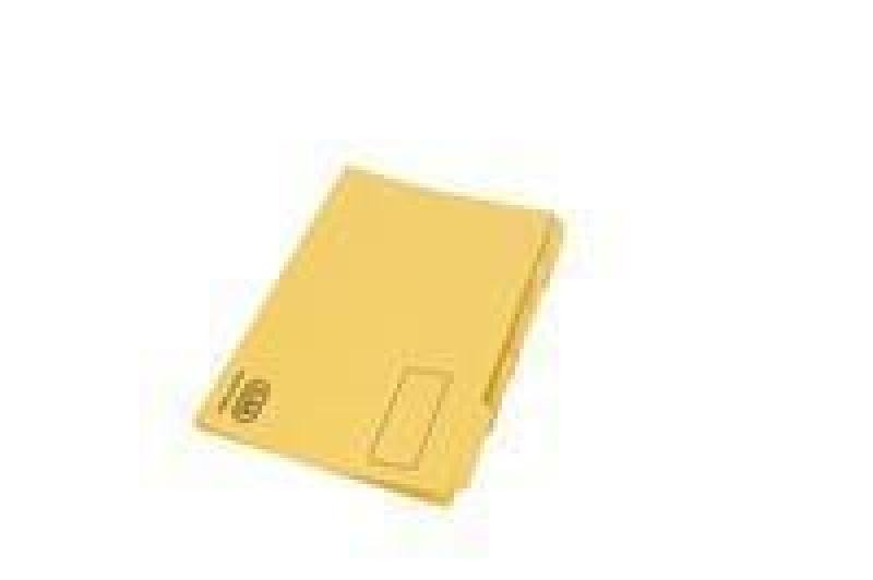 Elba Tabbed Folder Hwt Fcp Ylw 100090237 - 100 Pack
