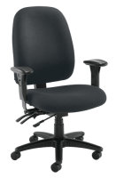 Posture Vista Charcoal Chair