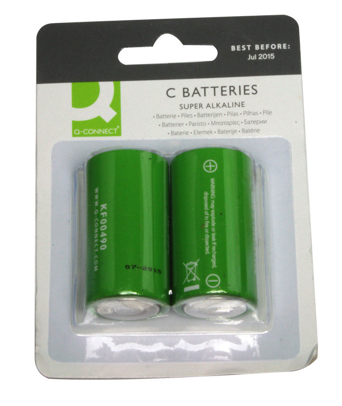 Q Connect C Alkaline Battery