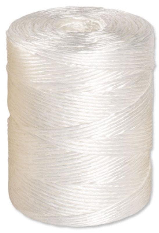 POLYPROPYLENE TWINE 2.25KG WHITE