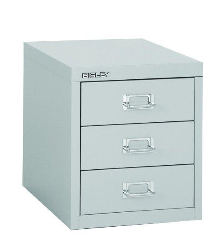 Bisley Multidrawer 3 Drawer Cabinet - Grey