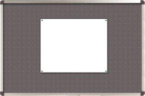 Nobo Grey Felt Classic 1200x900mm Notice Board