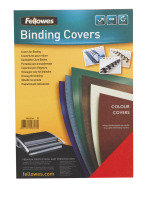 Fellowes Delta Leather Board Cover A4 Green 100 Pack