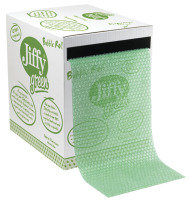Jiffy Green Bubble Wrap Dispenser Box 300mm x 50m