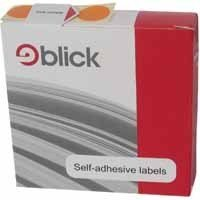 BLICK DISP S/A LABEL 19MM BLU PK1280