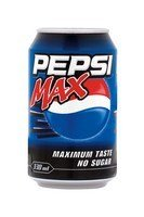 Pepsi Max 330ml Cans - 24 Pack