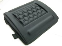 Q-Connect Memory Foam Back Cushion Black