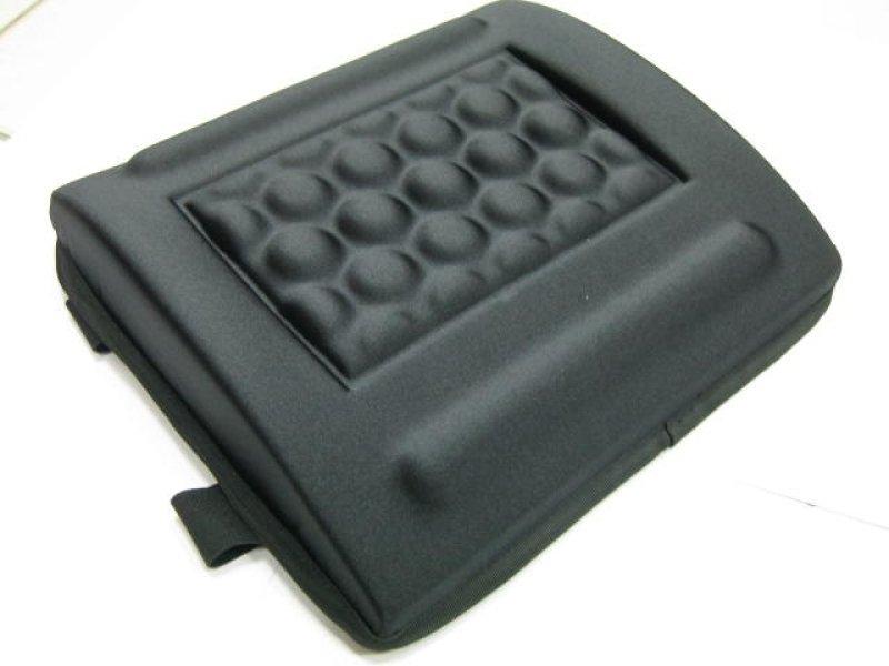 Q-Connect Memory Foam Back Cushion Black