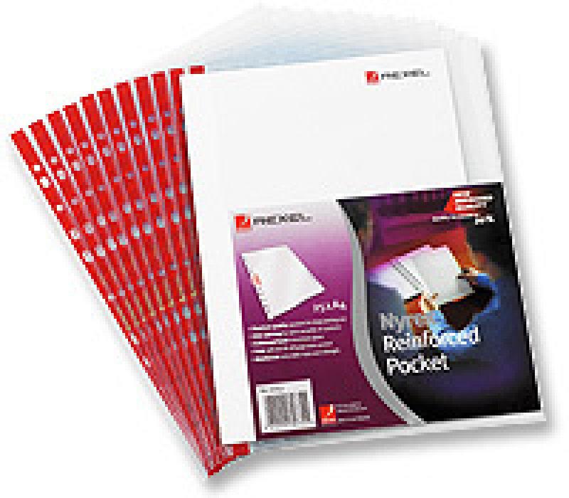 NYREX POCKET PVC OPEDGE CLEAR PK25 PRA4L