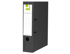 Q-Connect Black A4 Polypropylene Lever Arch File (Pack of 10)