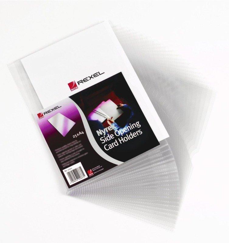 NYREX CARDHOLDER 3.75X2.5 PK25 PGC321