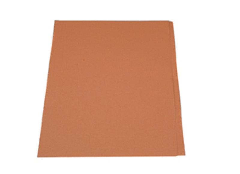 Guildhall Square Cut Folder 315g Orange - 100 Pack