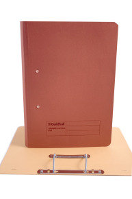 Guildhall Transfer File 275g Red - 25 Pack