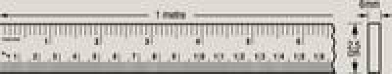 Image of HELIX METRIC/IMPERIAL METRE RULE X82040