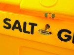 SALT/GRIT BIN C/W LOCK YLW 200L 317063