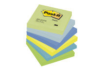 3M POSTIT DREAMY COLOURS PK6 76X76MM