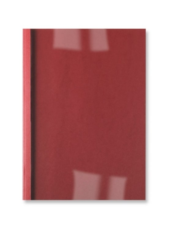 Image of GBC 1.5MM 250G THERM COV LTHR CL/RD P100