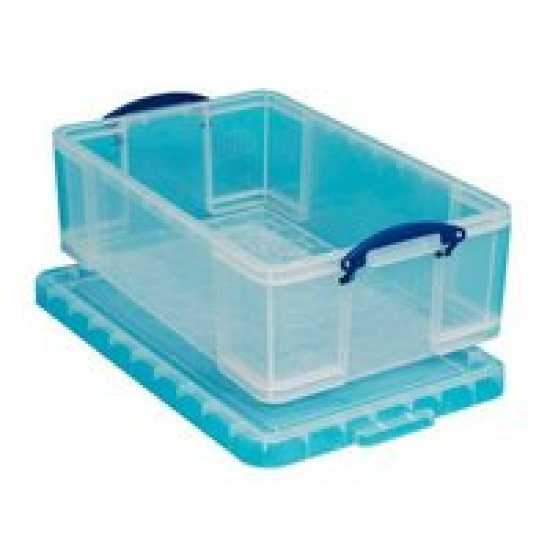 REALLY USEFUL 50L BOX CLEAR KING50C