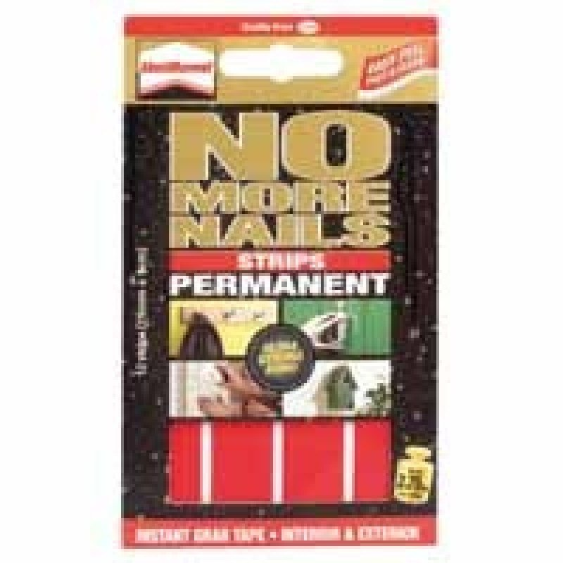 Image of HENKEL NO MORE NAILS STRIPS PERM RED