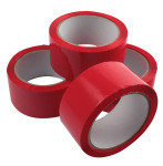 Polypropylene Tape 50x66 Red 62050664 - 6 Pack