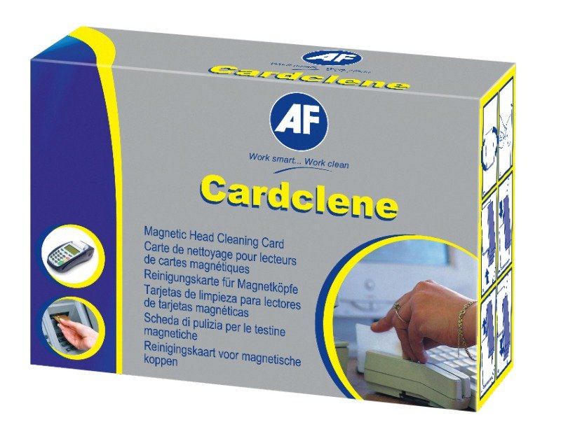 Image of AF CardClene Magnetic Head Cleaning Card - 20 Pack