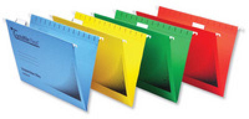 Crystal File Flexi Standard Fc Red Pk50