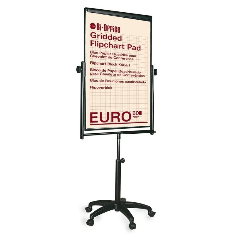 Image of Bi-Office Black Performer Flipchart Easel