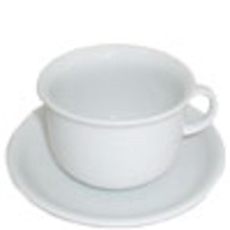 CPD Porcelain Cup & Saucer Set - 6 Pack