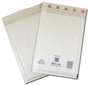 BUBBLE BAG WHT 230X330 PK50 MAIL LITE LL