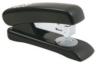 Rapesco Eco Half Strip Stapler Black