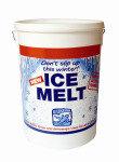 ICE MELT TUB/DISPENSER 1875KG WHT 320407