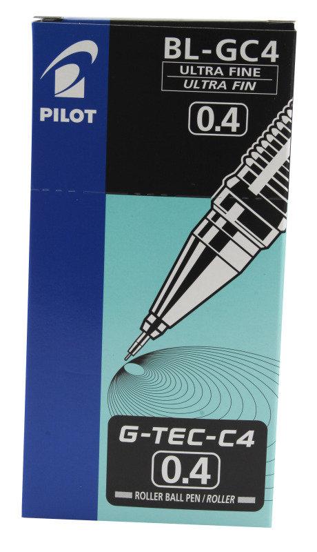 Pilot Gtec Micro 0.4 Black Blgc4 - 12 Pack