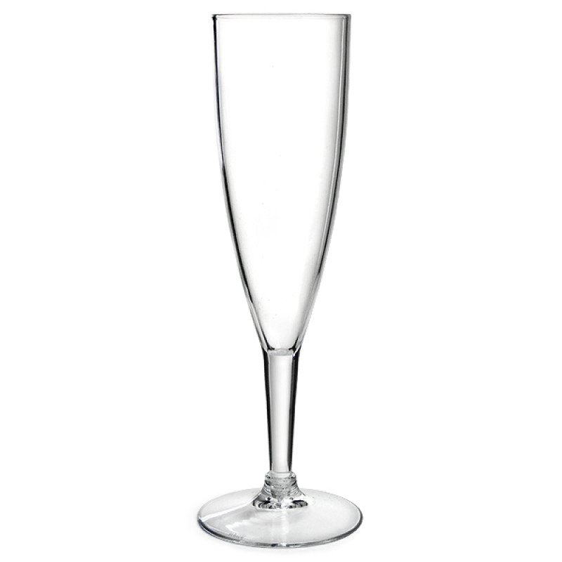CPD Plastic Champagne Glass - 10 Pack