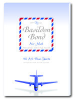 Basildon Bond Airmail Writ Pad 40sht Blu - 10 Pack