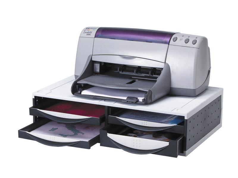 Fellowes Machine Organiser - Platinum Grey