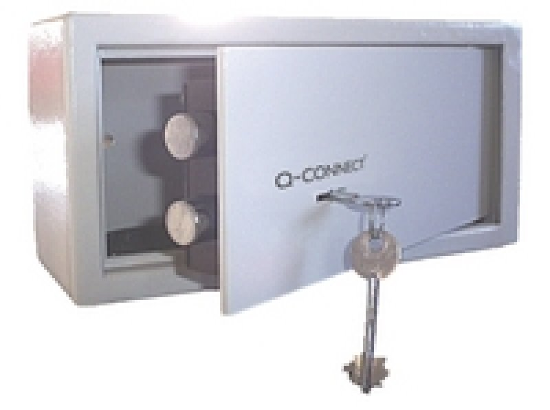 Q Connect Key Operated 6 Litre Safe